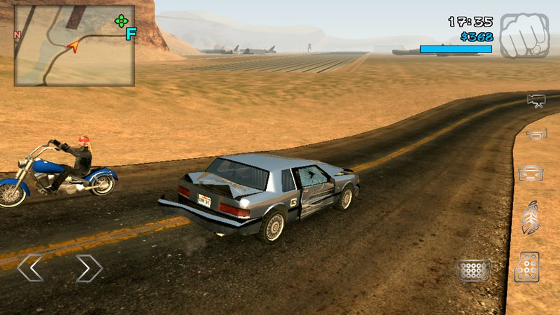 GTA San Andreas HD GTA V The Road Texture For Android Mod