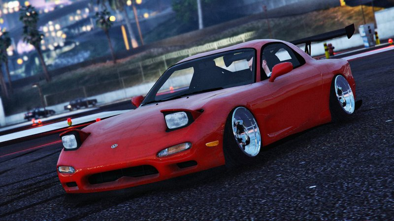 GTA 5 Mazda RX7 FD3S Stanced / Cambered Mod - GTAinside com
