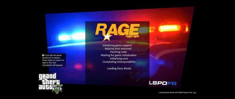 GTA 5 LSPDFR Loadingscreen + Extra V0 10 Mod - GTAinside com