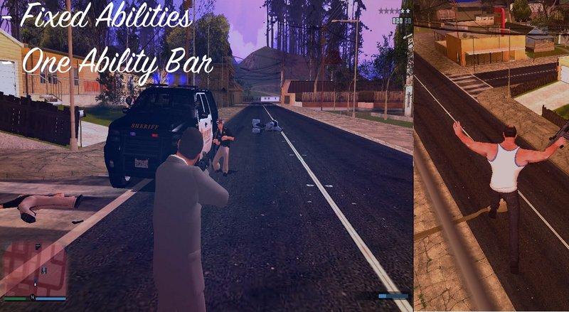 GTA San Andreas V Style Character Switch v3 0 Mod