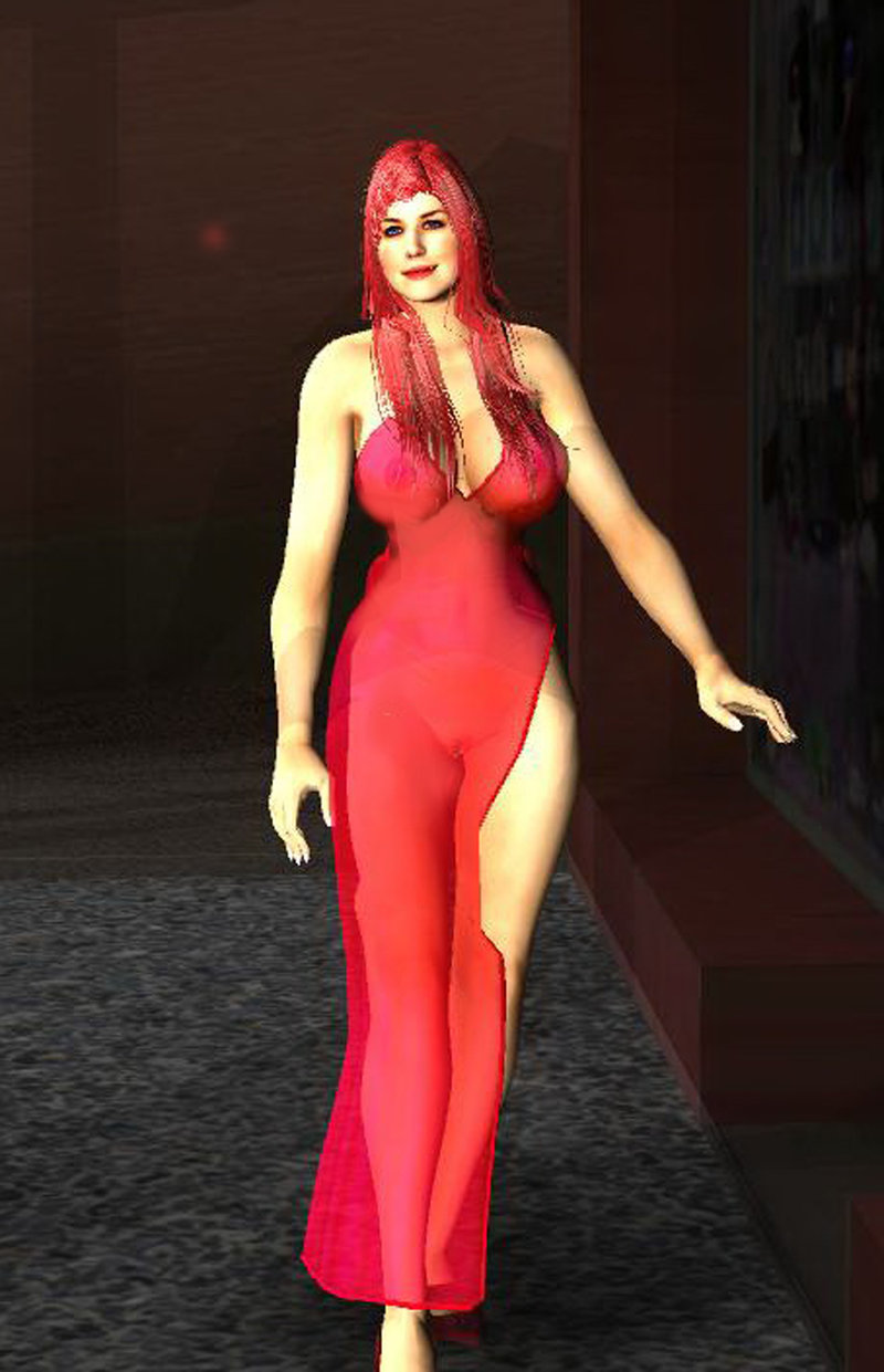 GTA San Andreas Jessica Rabbit Ver 1 And 2 Mod