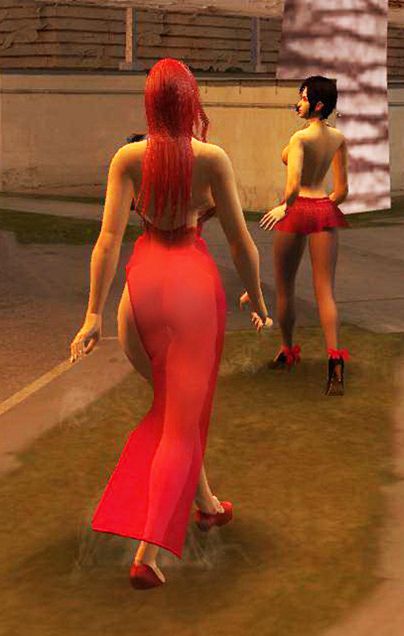 Gta San Andreas Jessica Rabbit Ver 1 And 2 Mod Gtainside Com