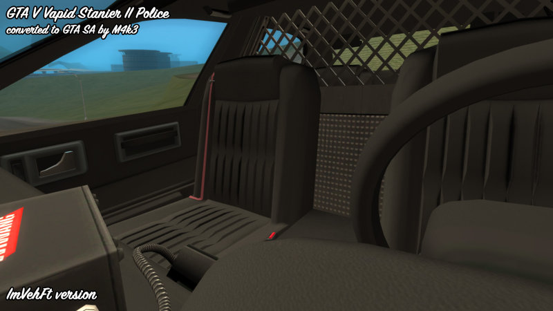 GTA San Andreas GTA 5 Vapid Stanier II Police Mod