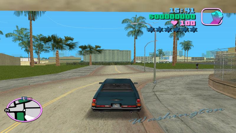 GTA Vice City New Airport Road - Like A VCS Mod - GTAinside com