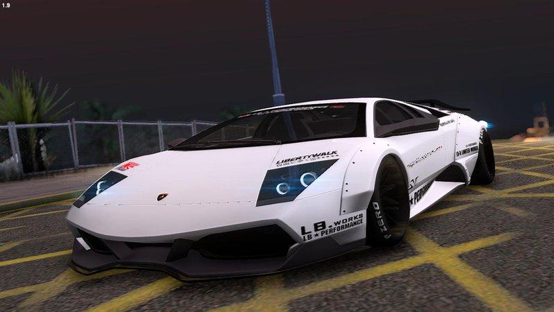 Gta San Andreas 2010 Lamborghini Murcielago Lp670 4 Sv Liberty Walk