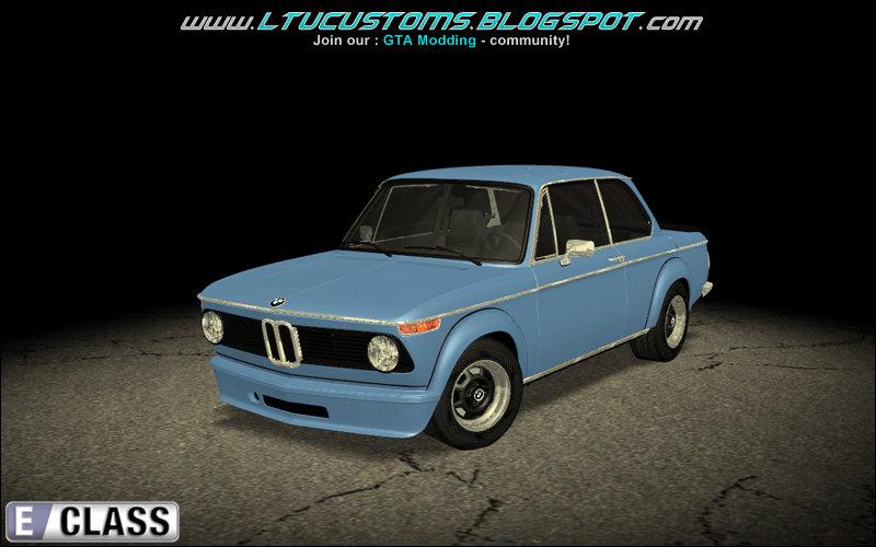 Gta San Andreas 1973 Bmw 2002 Turbo Stock Mod Gtainside