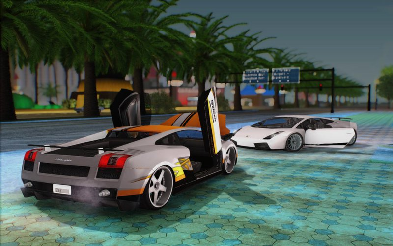 Gta San Andreas Lamborghini Gallardo Superleggera Mod Gtainside Com