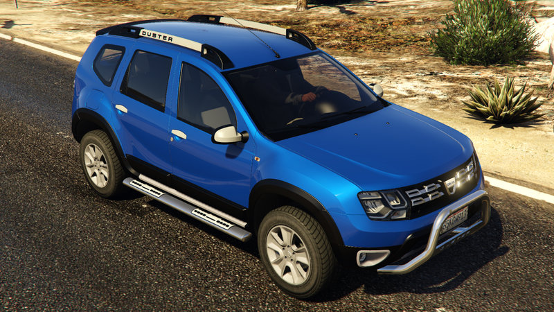 grand theft auto v dacia duster 2014 direct download link. Black Bedroom Furniture Sets. Home Design Ideas