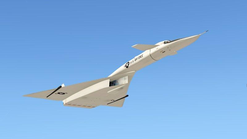 Xb 70 Bomber: GTA 5 XB-70 Valkyrie (Mach 3 High Speed Bomber) Mod
