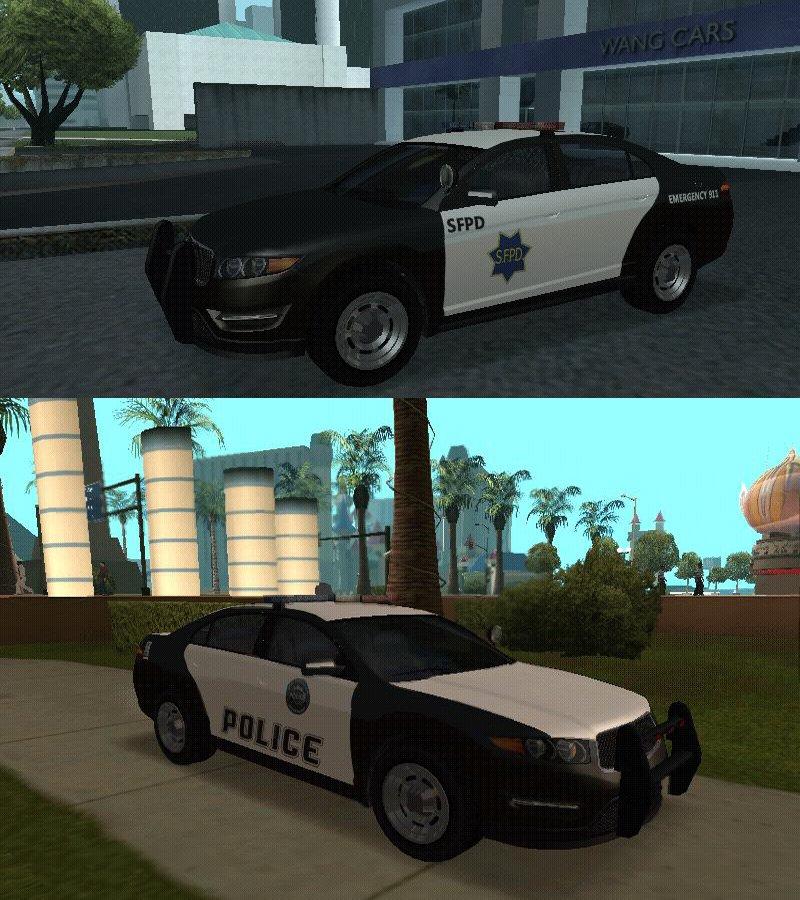 GTA San Andreas GTA 5 Police Pack For SA V2 Mod