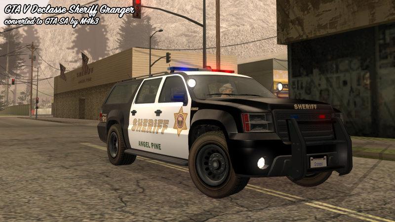 Granger Gta V Sheriff: GTA 5 Declasse Granger Sheriff SUV For GTA
