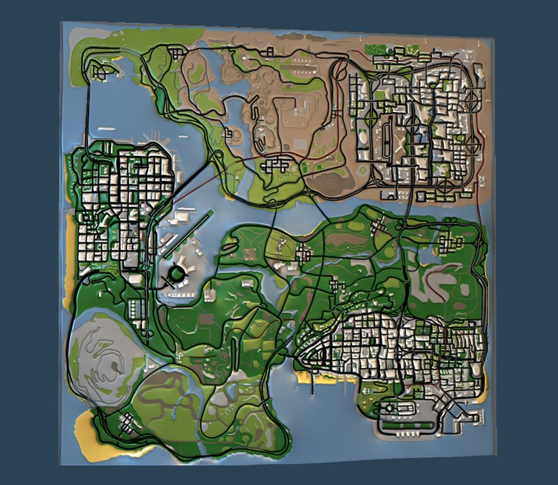 GTA San Andreas San Andreas HD Radar Map Mod - GTAinside.com San Andreas Map on gta 4 map, vice city map, andreas fault map, san miguel map, west coast fault line map, doom map, san andres map, gta 2 map, san gorgonio map, gta 5 grove street map, san lorenzo valley map, liberty city map, gta 1 map, gta 3 map, calaveras county map, saints row map, gta v map, the golden compass map, city of san antonio map, grand theft auto iv map,