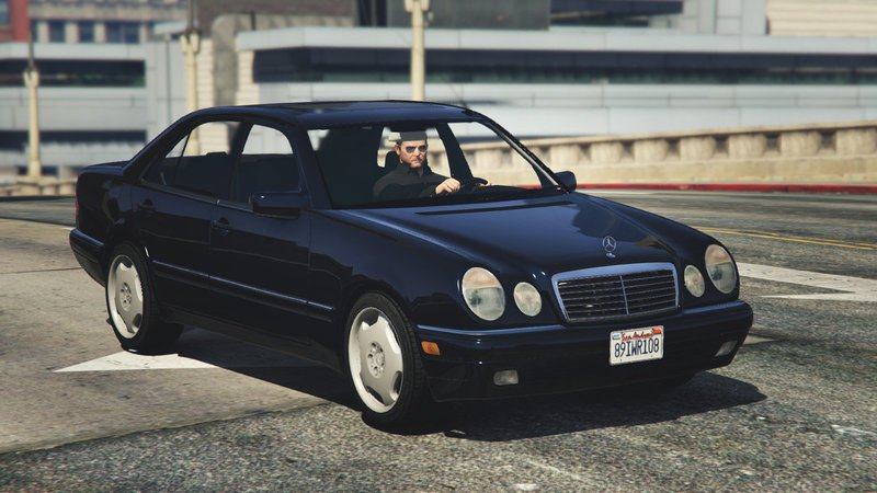 gta 5 mercedes benz e420 w210 add on replace mod. Black Bedroom Furniture Sets. Home Design Ideas