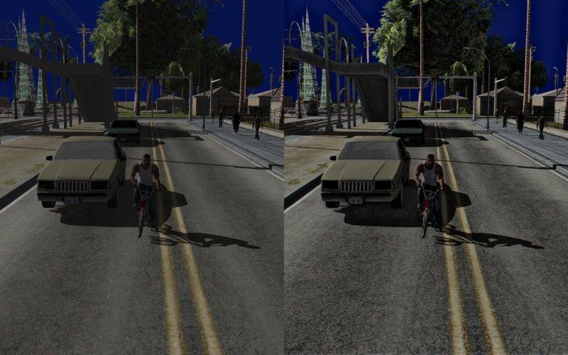 GTA San Andreas Vibrant Realism (Ultra Edges) Mod