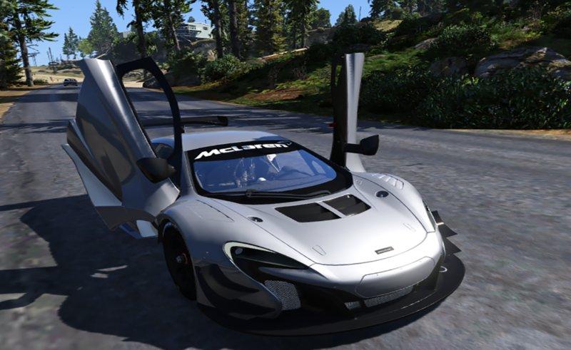 GTA 5 2015 McLaren 650s GT3 Mod - GTAinside.com