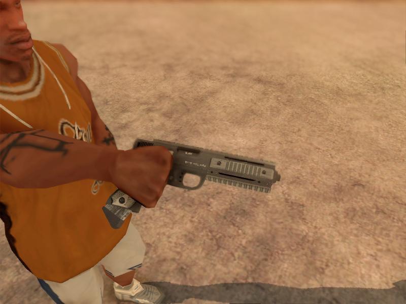 GTA San Andreas GTA V AP Pistol V2 - Misterix 4 Weapons Mod