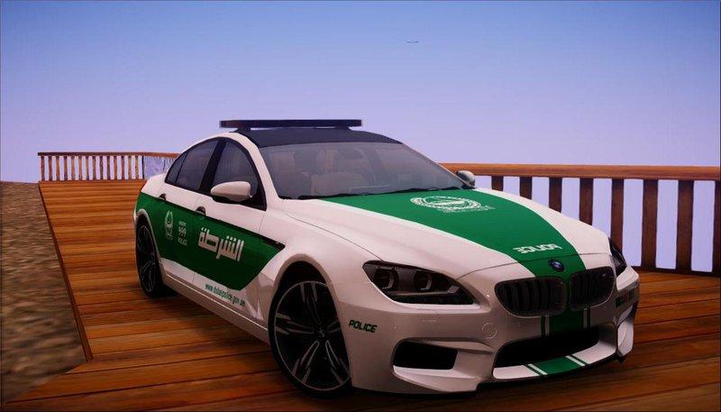 Gta San Andreas 2014 Bmw F06 M6 Gran Coupe Dubai Police Mod