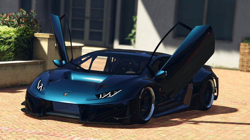 gta 5 lamborghini huracan gt3 add on mod. Black Bedroom Furniture Sets. Home Design Ideas