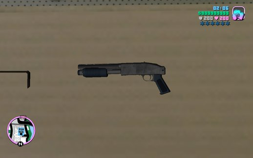 GTA V Sawn-Off Shotgun