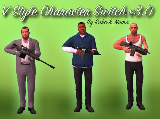 V Style Character Switch v3.0