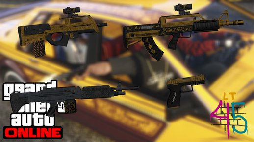 Lowriders DLC Weapon Pack from GTA V Online