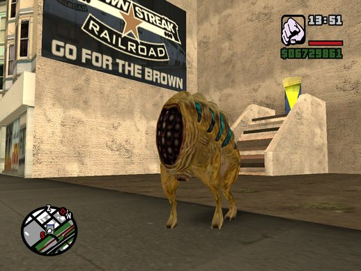 Houndeye from Half life 1