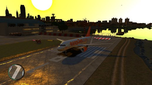 easyJet livery for Airbus A319