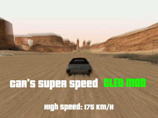 Car's Super Speed