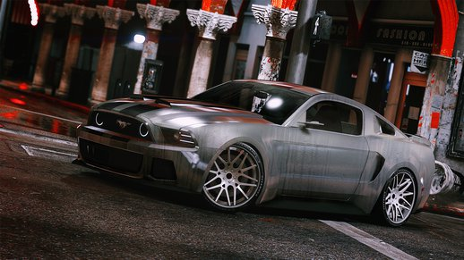 2013 NFS Movie Mustang [Add-On]