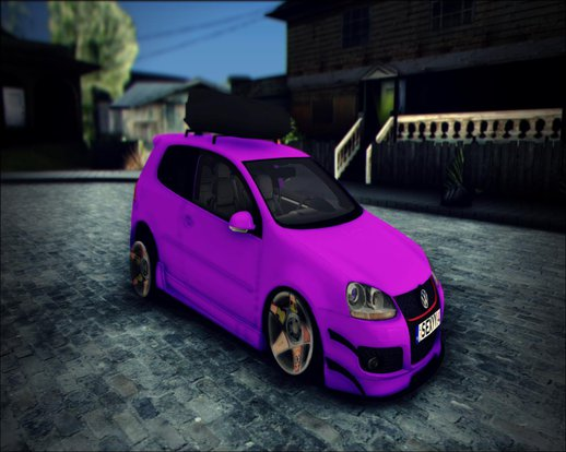 Golf Mk5 Stanced - SapphireGarage