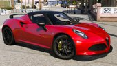 2015 Alfa Romeo 4c Spider [Add-On]