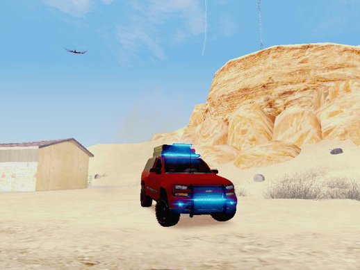 Chevrolet Traiblazer Off-Road (IVF)