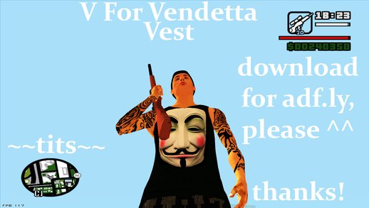 V for Vendetta Vest