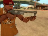 GTA V Sawed-Off Shotgun V2 - Misterix 4 Weapons