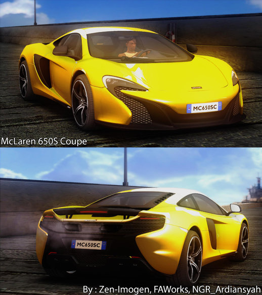 McLaren 650S Coupe [HQ]