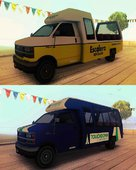 GTA V Rental Shuttle Bus