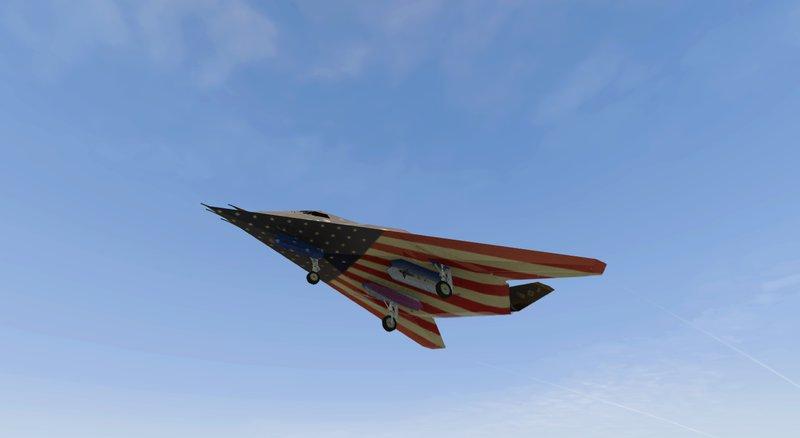 F 117 Nighthawk At Night GTA 5 Lockheed ...