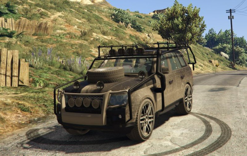 Gta 5 Range Rover Sport Military Police Assault Vehicle