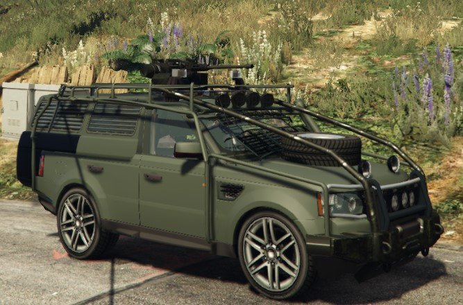 Gta 5 Range Rover Sport Military Police Assault Vehicle