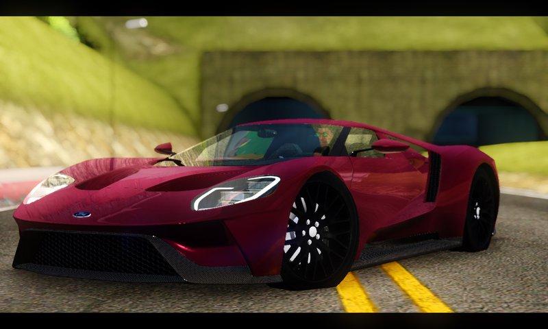 Ford Gt Black Revel Minor Fix