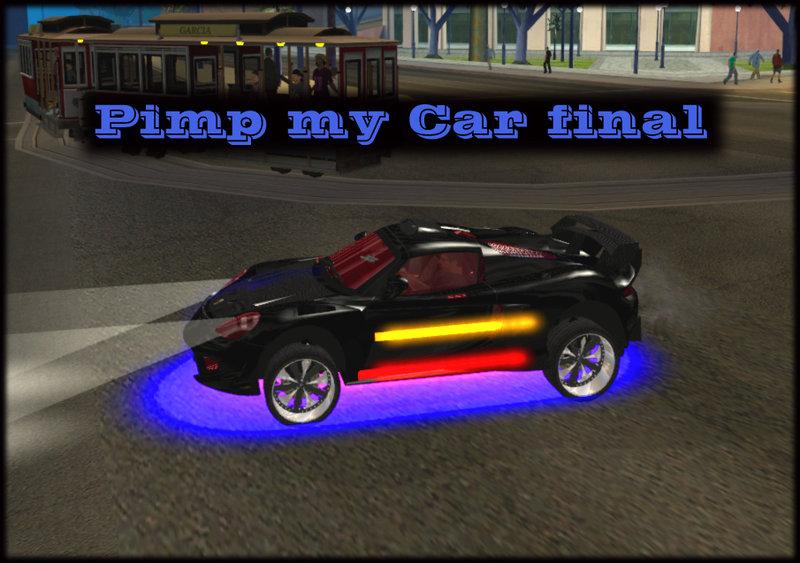 GTA San Andreas PIMP MY Car FINAL Manual Mod - GTAinside com