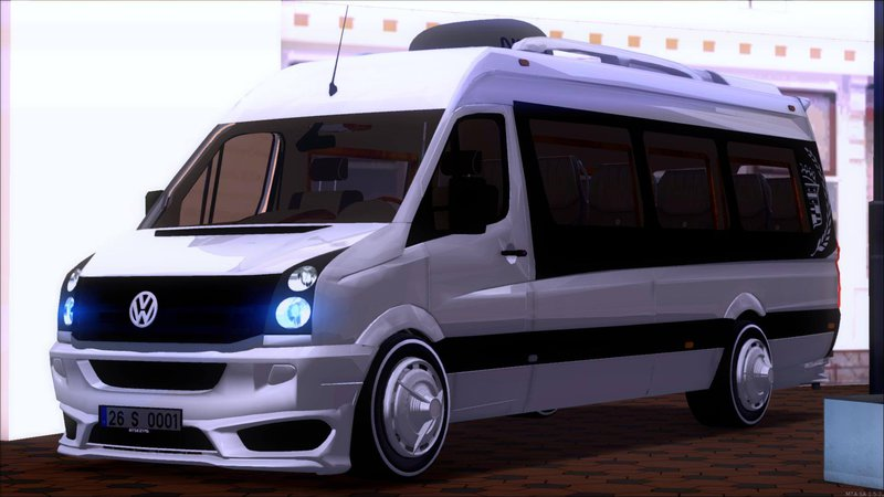 gta san andreas volkswagen crafter 2015 vip h mod. Black Bedroom Furniture Sets. Home Design Ideas