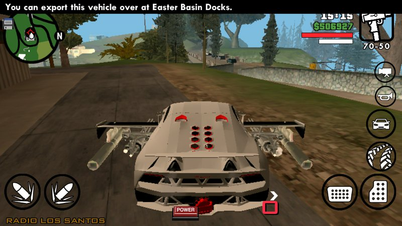GTA San Andreas Cars Have Weapons For Mobile Mod - GTAinside com