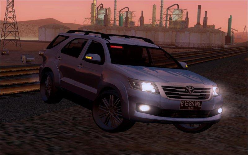 Toyota Of San Diego >> GTA San Andreas Toyota Fortuner TRD Sportivo Vossen Mod ...