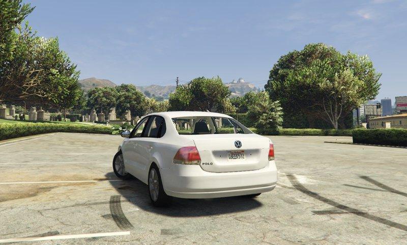 Gta Volkswagen Polo Sedan Tuning Mod Gtainside Com