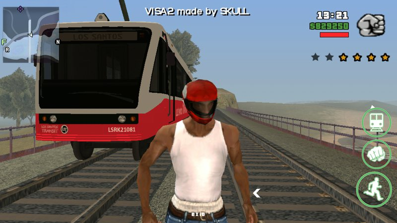GTA San Andreas GTA V Train for Android Mod - GTAinside com