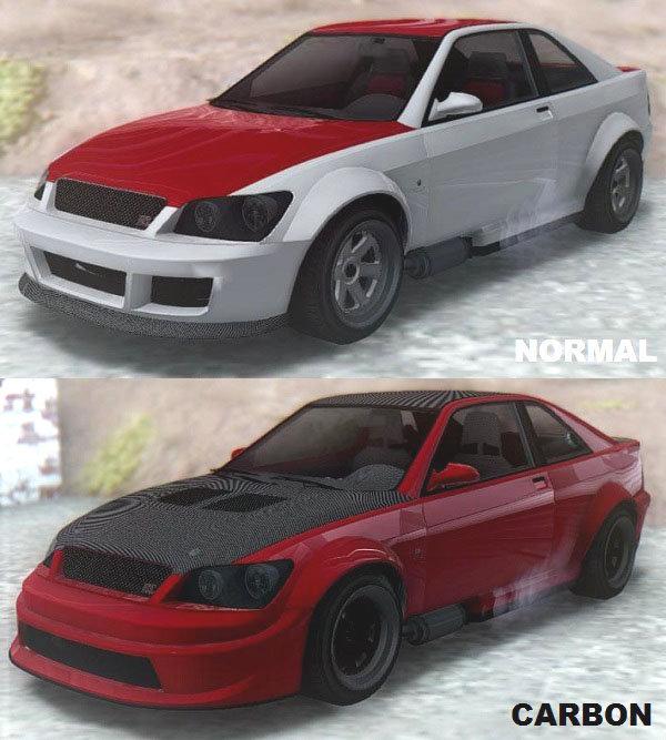 GTA San Andreas GTA V Karin Sultan RS & Carbon Mod ...