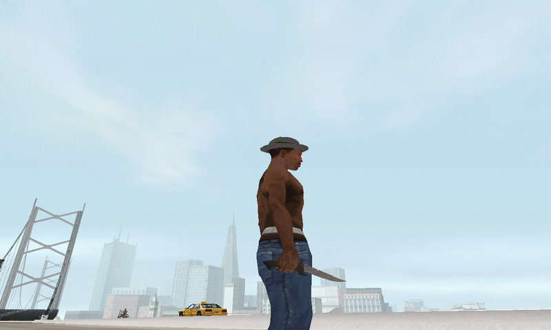 GTA San Andreas New Knife Mod - GTAinside com