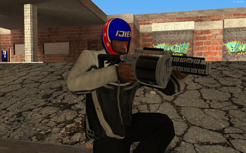 GTA San Andreas GTA V Grenade Launcher Mod - GTAinside com