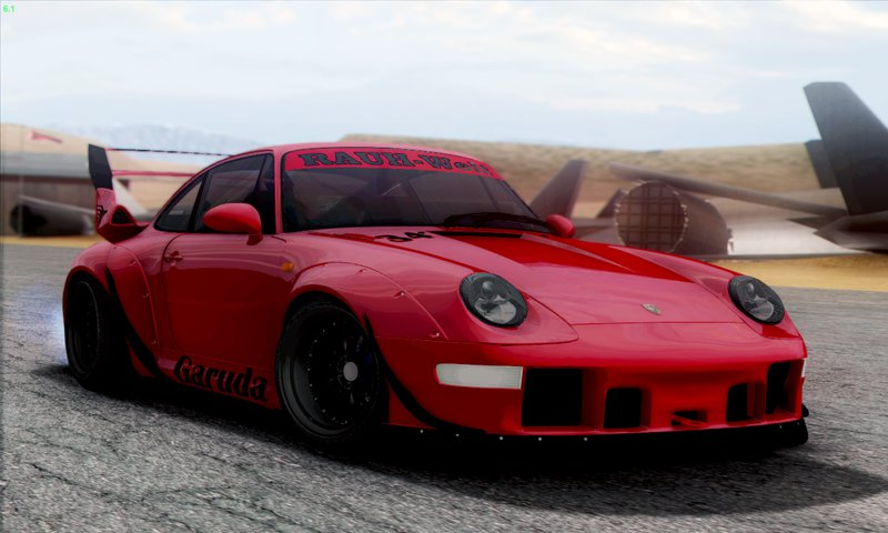 gta san andreas porsche 993 gt2 rwb garuda mod. Black Bedroom Furniture Sets. Home Design Ideas